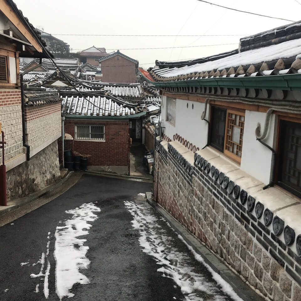 韓国旅行 観光スポット ソウル 北村韓屋村