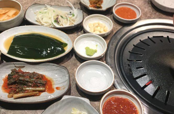 韓国旅行 ソウルグルメ サムギョプサル 肉典食堂
