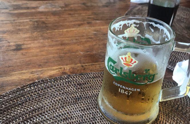 バリ島 グルメ ウブド ランチ ライステラス ボニバリ ビール