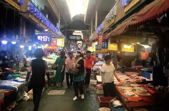 釜山 スーパー おすすめ 釜田市場1