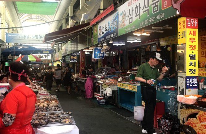 釜山 スーパー おすすめ 釜田市場2