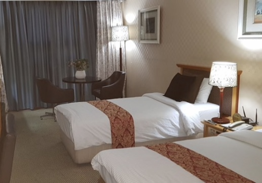 釜山プライム観光ホテル 部屋の様子