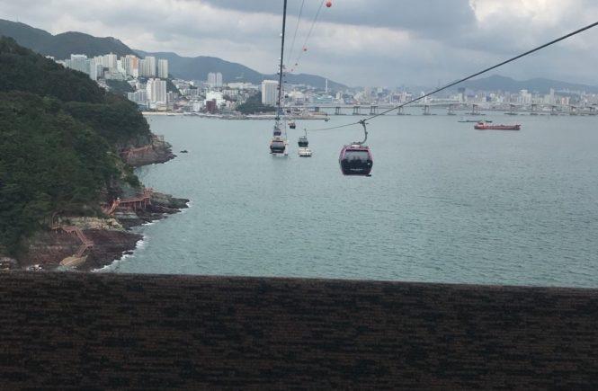 釜山 観光スポット 松島ケーブルカー