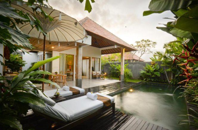 バリ島 ウブド ホテル プラーナ ブティック リゾート