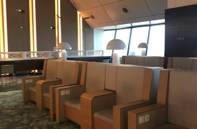 シンガポール チャンギ空港 ambassador transit lounge ソファ