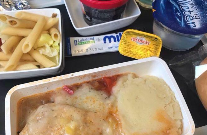シンガポール航空 機内食 ビーフ