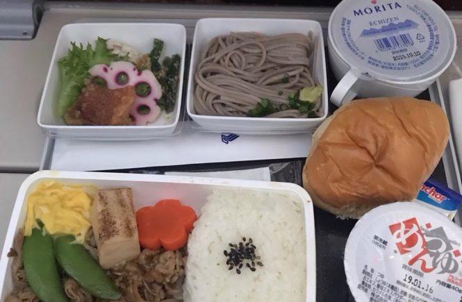 シンガポール航空 機内食 和食