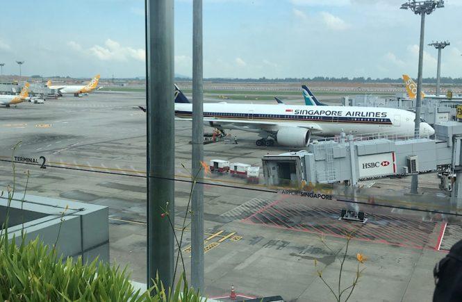 シンガポール航空 飛行機