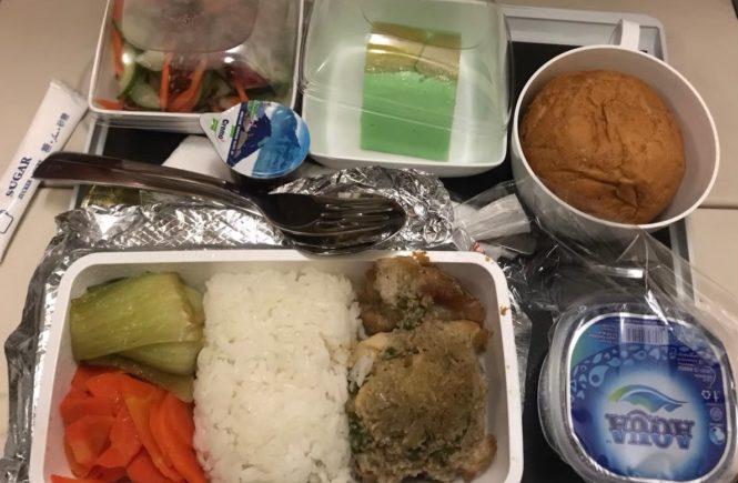 シンガポール航空 機内食 ビーフ2