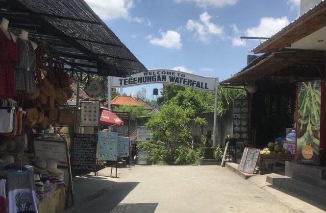 バリ島 ウブド観光 レンタルバイク トゥグヌンガンの滝3