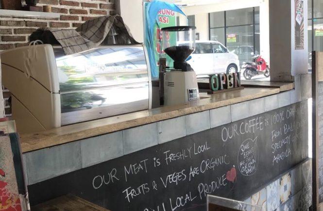バリ島 カフェ コーヒー豆 The Koop Roaster Cafe2