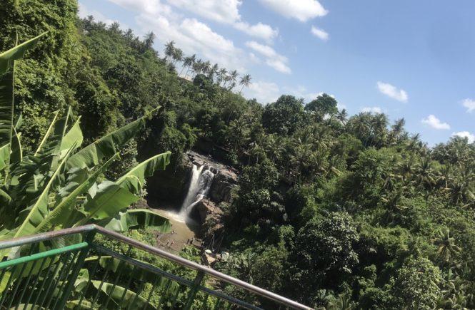 バリ島 ウブド観光 レンタルバイク トゥグヌンガンの滝5