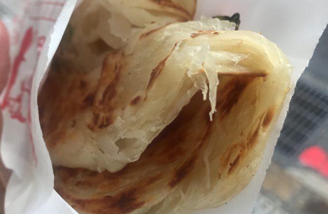台湾グルメ おすすめ 葱油餅 八角なし
