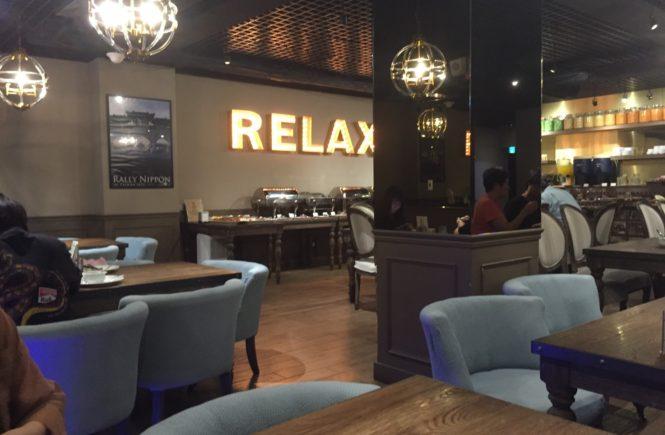 台湾 ホテル リラックス2 朝食ビュッフェ