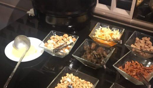 台湾 ホテル リラックス2 朝食 おかゆ