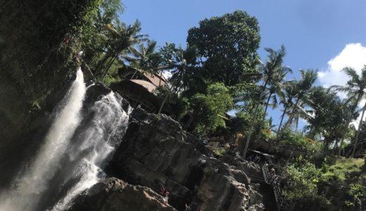 【ウブド観光】レンタルバイクでトゥグヌンガンの滝へ