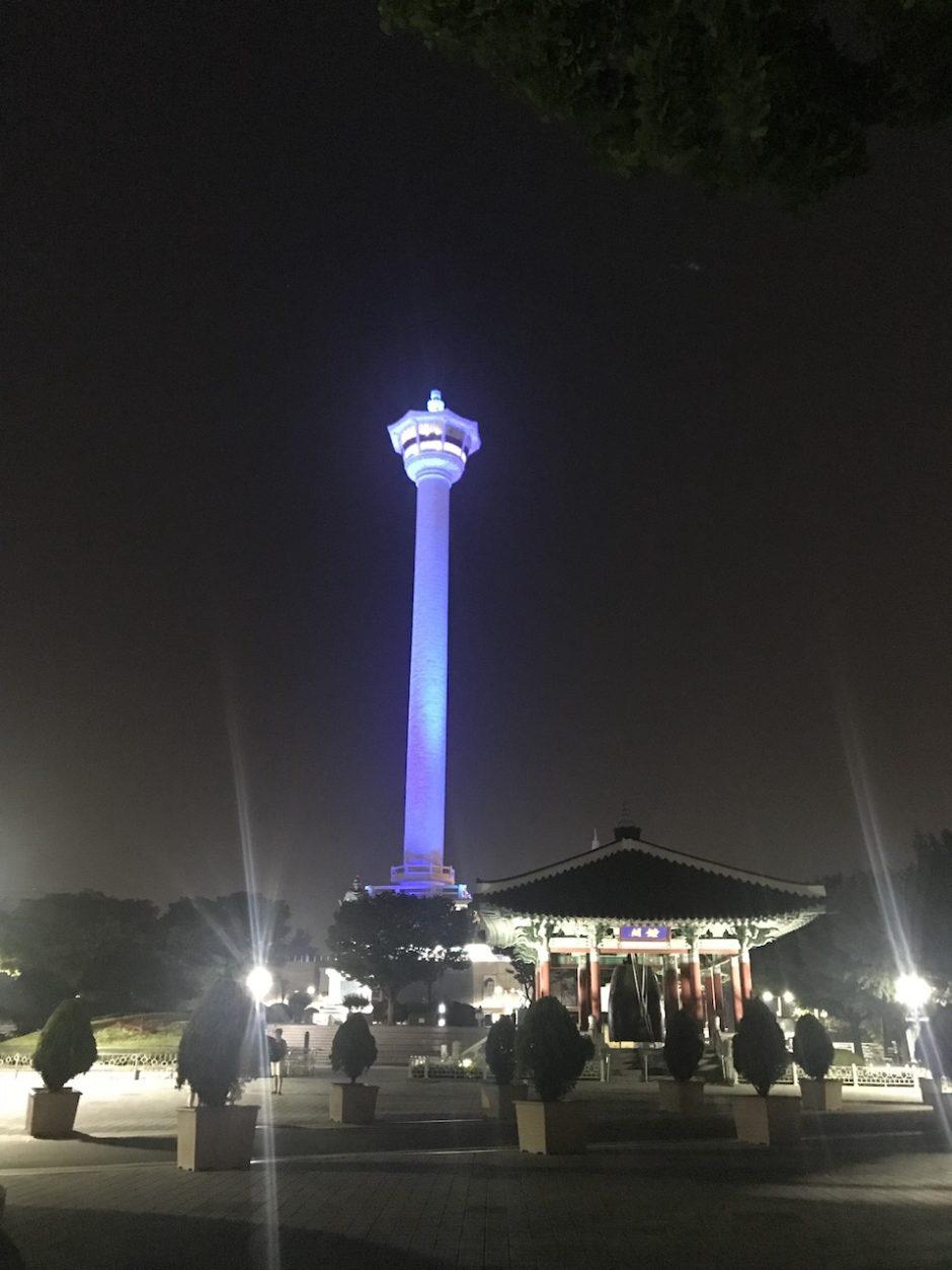 釜山 1泊2日 旅行記 プサンタワーで夜景