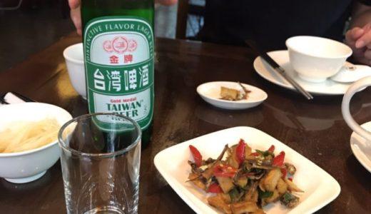 台湾グルメ 小籠包 點水樓 ビール
