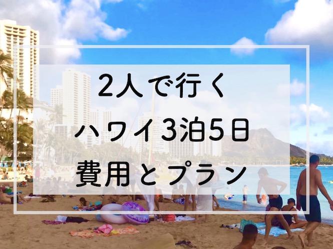 ハワイ旅行 ブログ 2019 プラン 費用