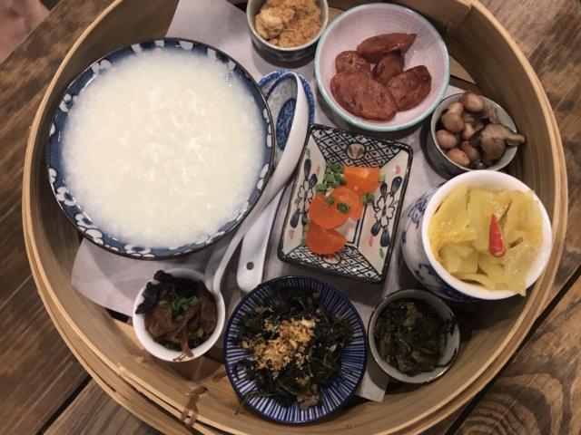 バンコク カフェ Chainese breakfast set