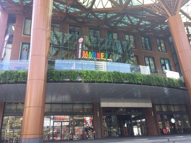 バンコク チットロム the market