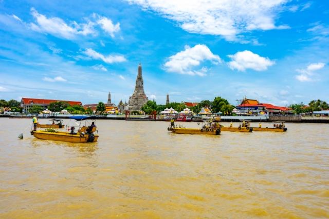 バンコク3大寺院 ワットアルン バンコク 観光スポット おすすめ