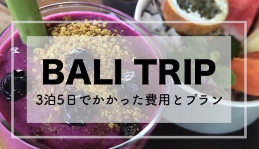 バリ島旅行記 予算8万円台で行くウブド3泊5日の観光プラン【2018年11月】