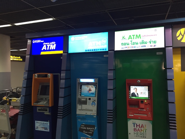 ドンムアン空港 atm キャッシング3