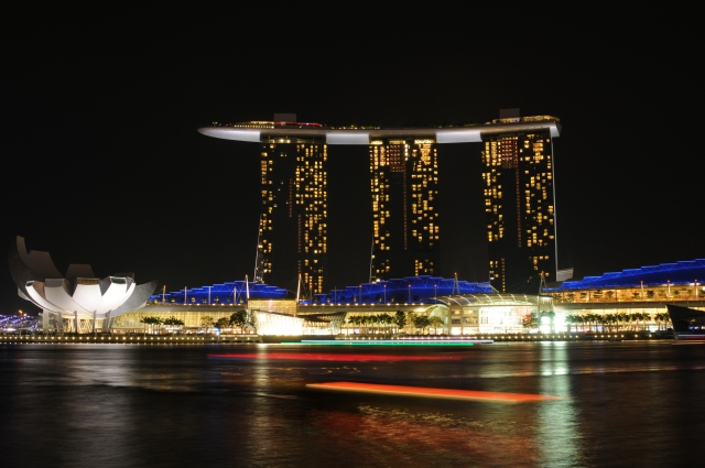 シンガポール 観光 おすすめ マリーナベイサンズ