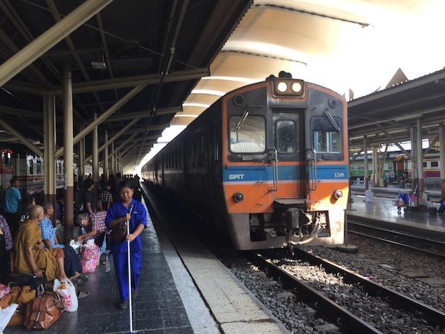 アユタヤ 行き方 電車27