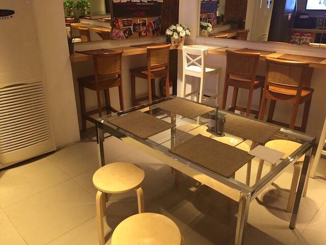 バンコク格安ホテル シーロムワン 朝食