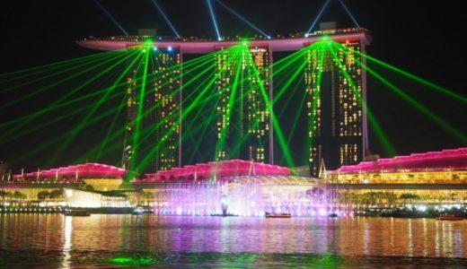 シンガポール 観光 おすすめ ナイトショー
