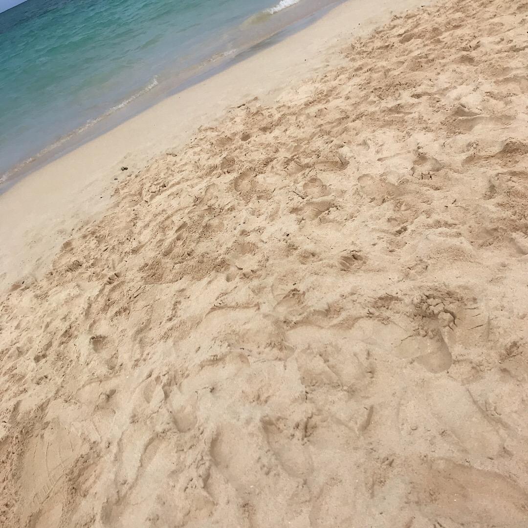 カイルアビーチ 砂浜
