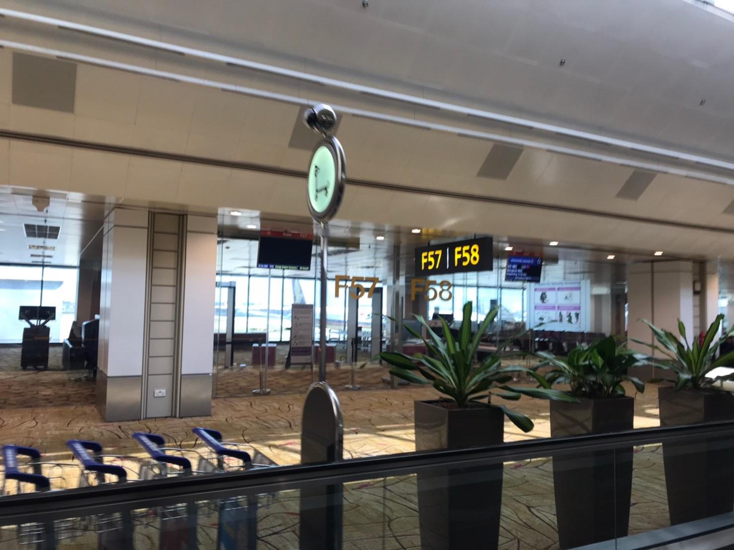 シンガポール航空 SQ655 到着 ターミナル2 F59