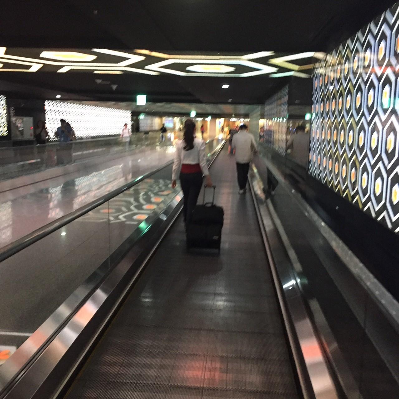 仁川空港第1ターミナル 地下1階 交通センター 連絡通路