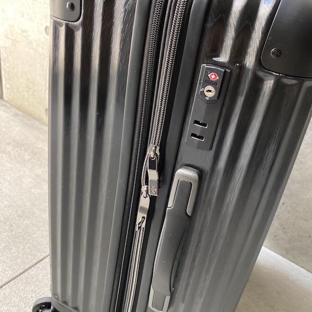 コールマン スーツケース 14-60の鍵