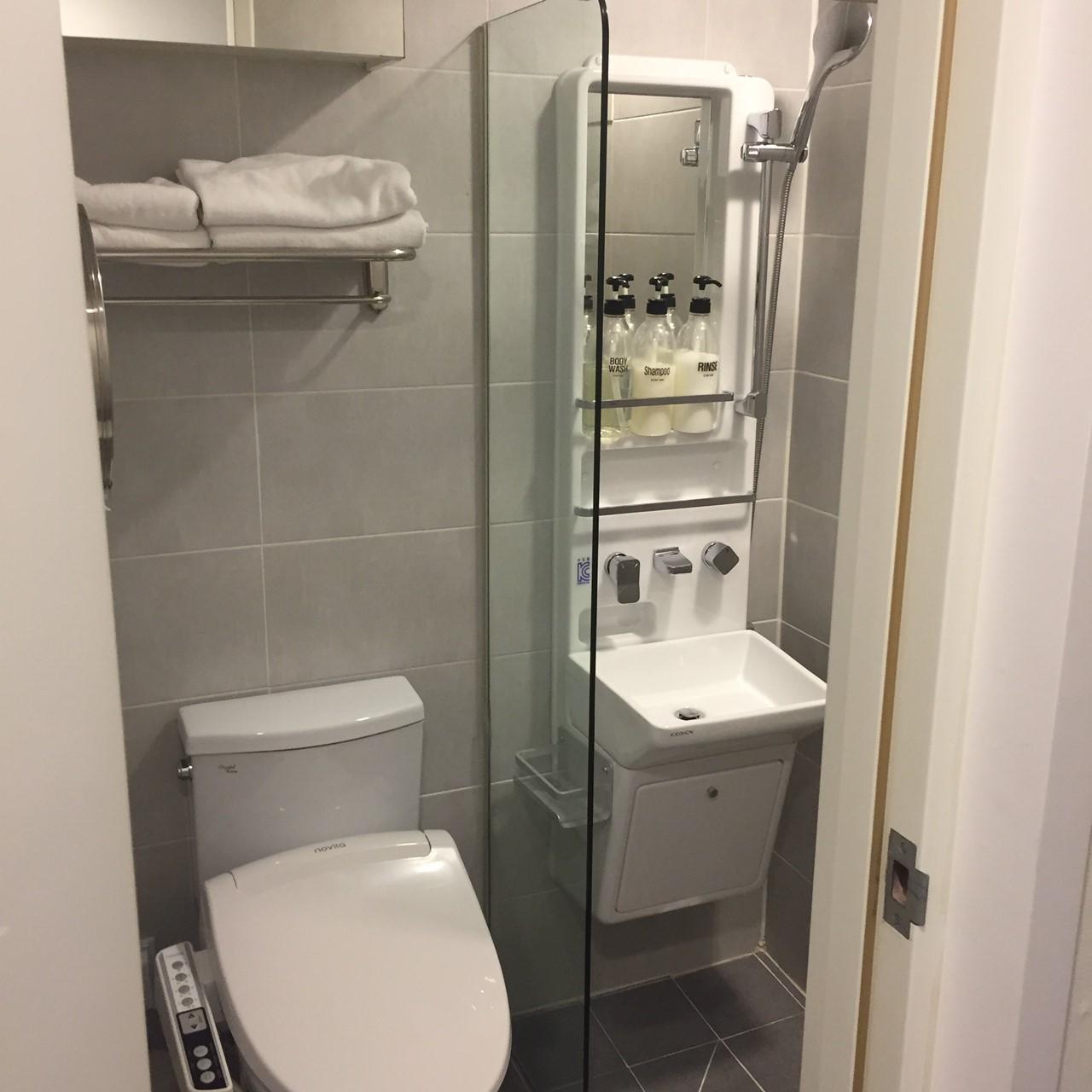 ステップイン明洞 ブログ トイレ シャワー