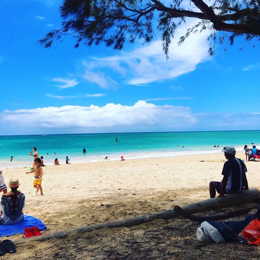 ハワイ カイルアビーチとラニカイビーチ