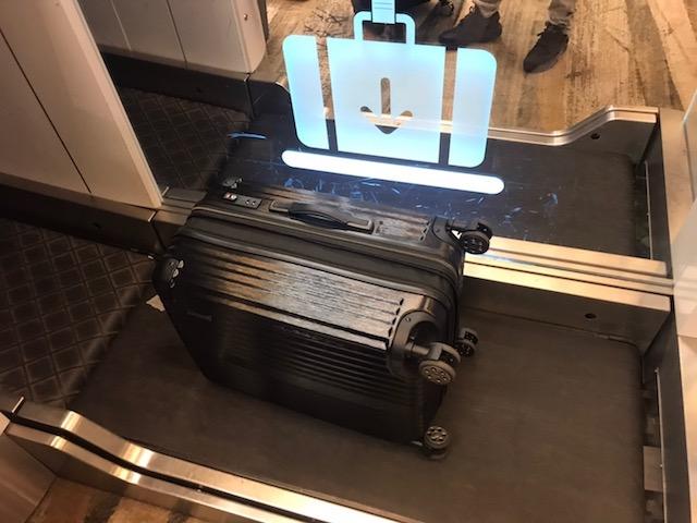 シンガポール チャンギ空港 自動チェックイン 預け手荷物