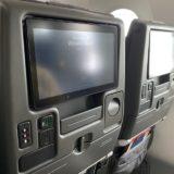 シンガポール航空 機内モニター 福岡便 787-10 2020年1月