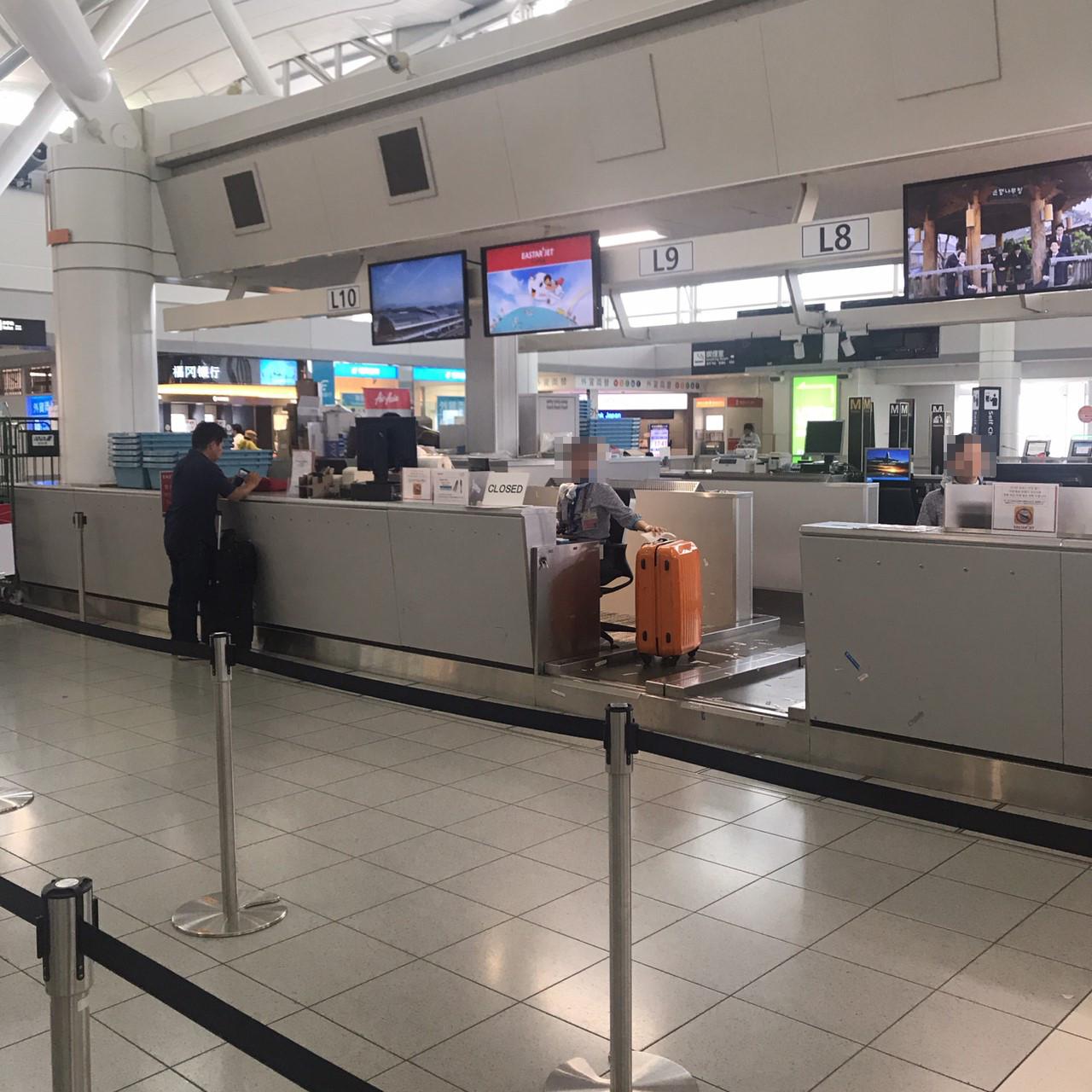イースター航空 福岡空港 混雑