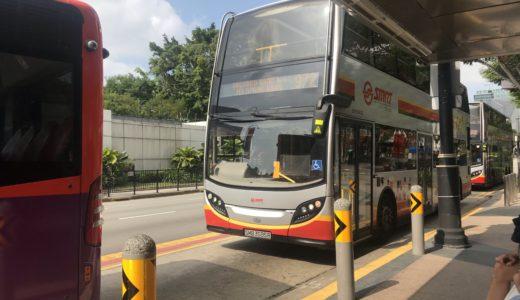 シンガポール バス 2階建て