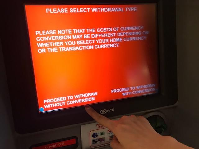 海外キャッシング 注意点 外貨建てで