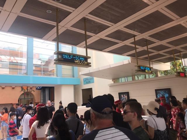 ユニバーサルスタジオシンガポール(USS)セルフ入場