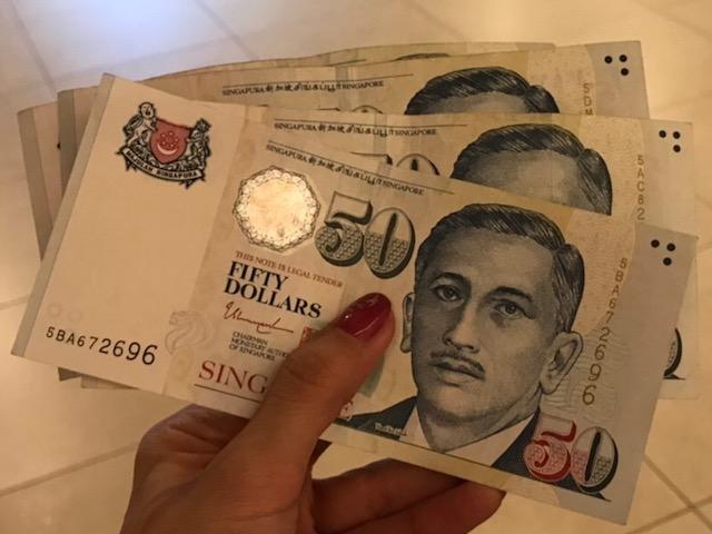 シンガポール 両替 いくら