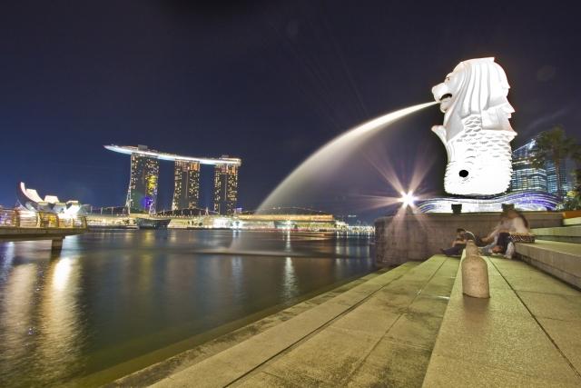 シンガポール ホテル 地図