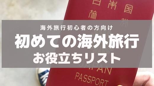 海外旅行 ガイド 初心者