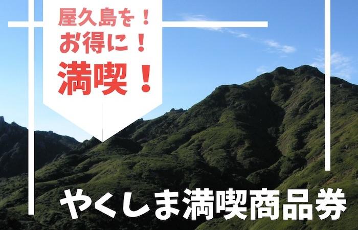 鹿児島 旅行 クーポン 屋久島 商品券