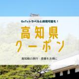 高知県 クーポン 旅行 食事