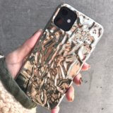 iphone 11 case silver foil